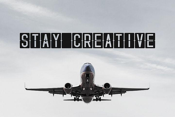 Skyfont Font Family - Sans Serif example image 4