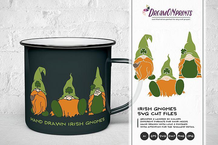 Irish Gnomes SVG - St Patricks Day Svg