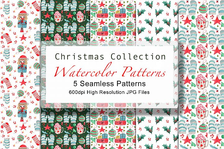 Christmass Pattern Collection SET