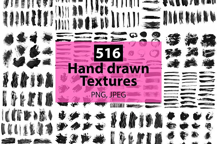 516 textures big set.