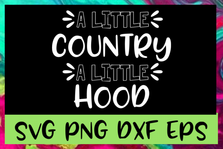 Little Country Little Hood SVG PNG DXF & EPS Design Files