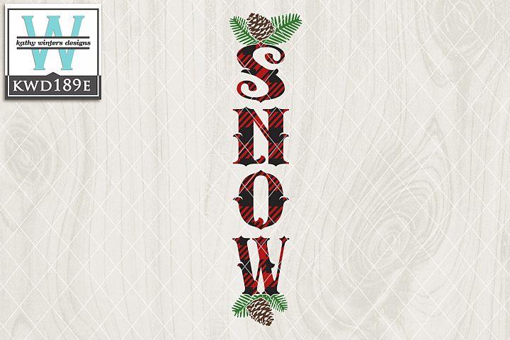 Christmas SVG - Snow