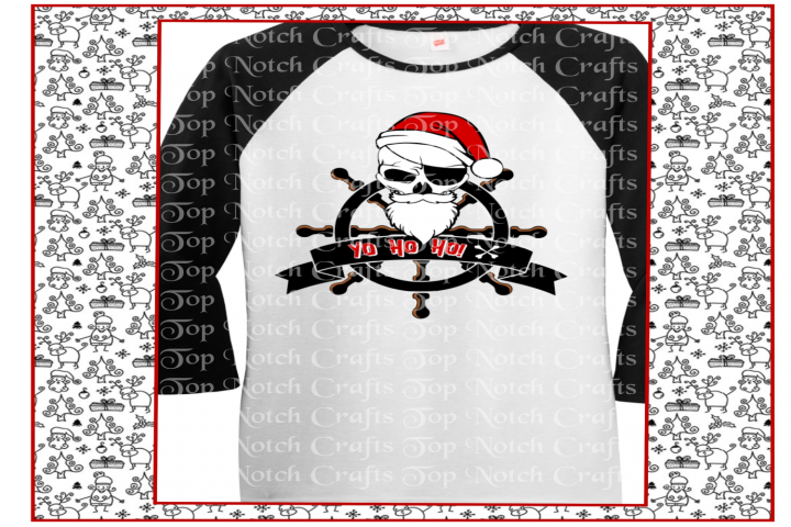 Pirate Santa design files, Layered Pirate Santa Design files