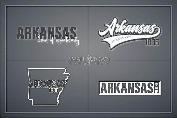 Arkansas, Land of Opportunity, Logo, PRINT, CUT & DESIGN