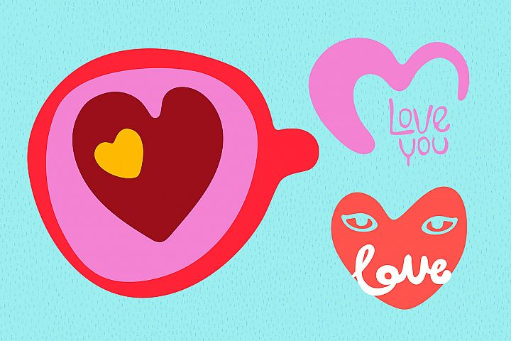 Valentines Day Vector_part 15