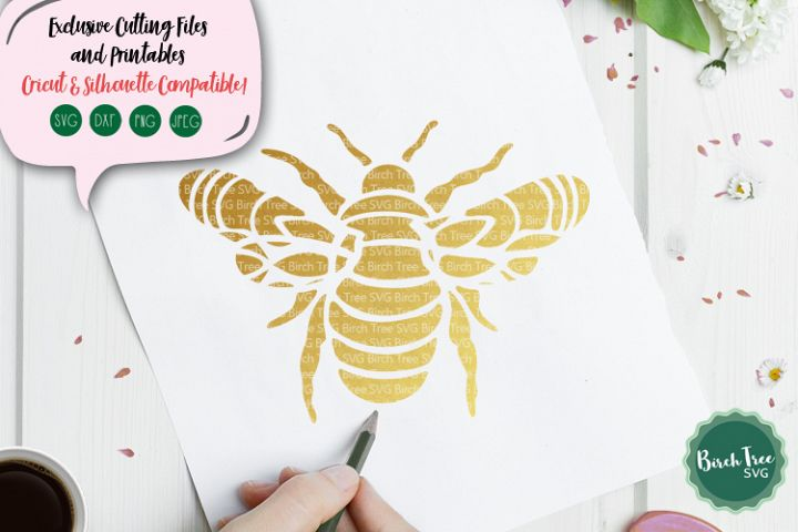 Bumblebee Mandala Svg, Bumblebee Svg, Bee Svg Cutting File