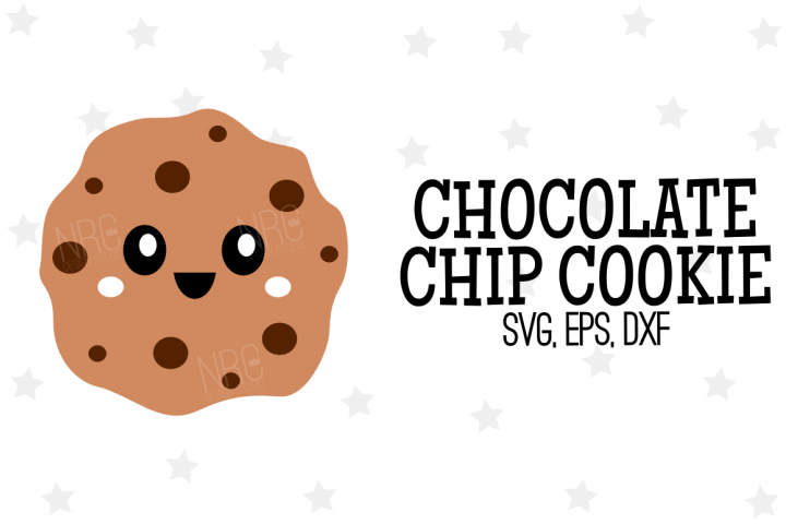 Chocolate Chip Cookie SVG File