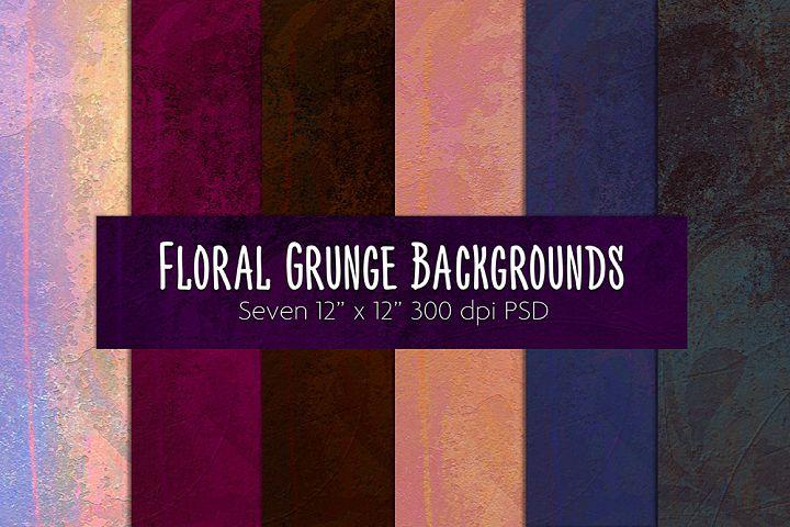 Floral Grunge Background #1