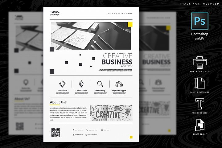 Multipurpose Corporate Flyer Template Vol. 9