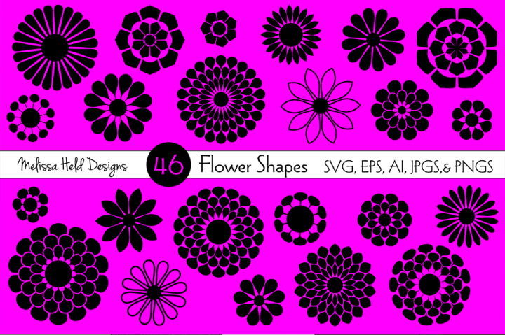 SVG Flower Shapes