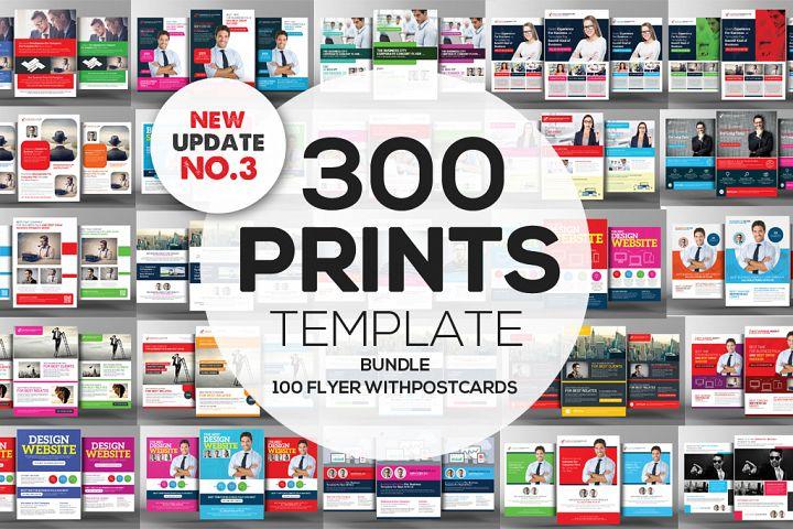 350+ Print Templates Bundle