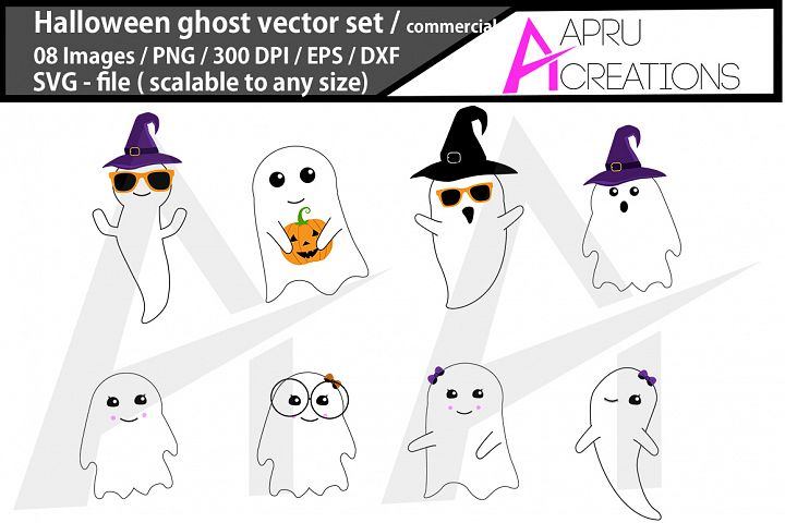 halloween ghost svg/ halloween ghost silhouette