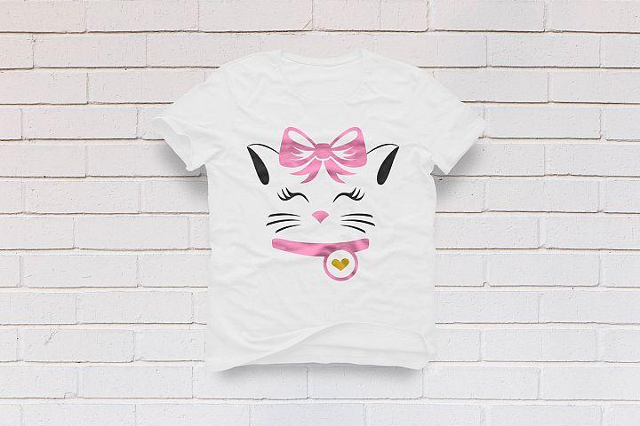 Kitty Cat Face Eyelashes