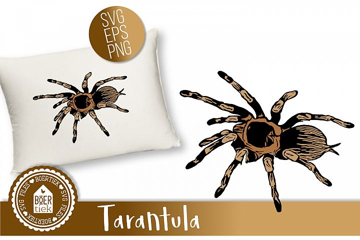 Tarantula SVG cutting file