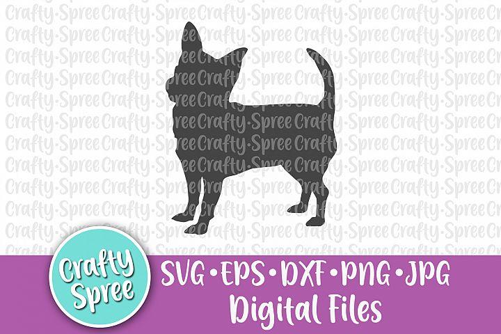 Chihuahua SVG DXF Design Element Sublimation