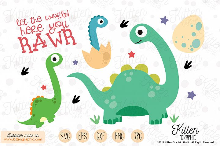 Dinosaurs Set - Graphics