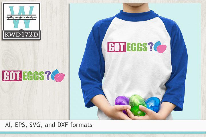 Easter SVG - Got Eggs