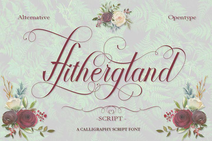 Hithergland Script