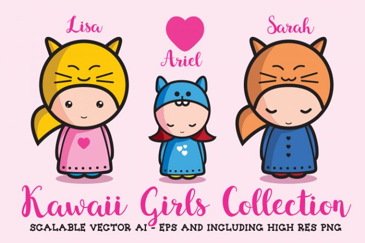 Kawaii Girls Collection