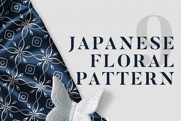 9 Japanese Floral Patterns