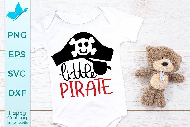 Little Pirate - A Cute Halloween Craft File