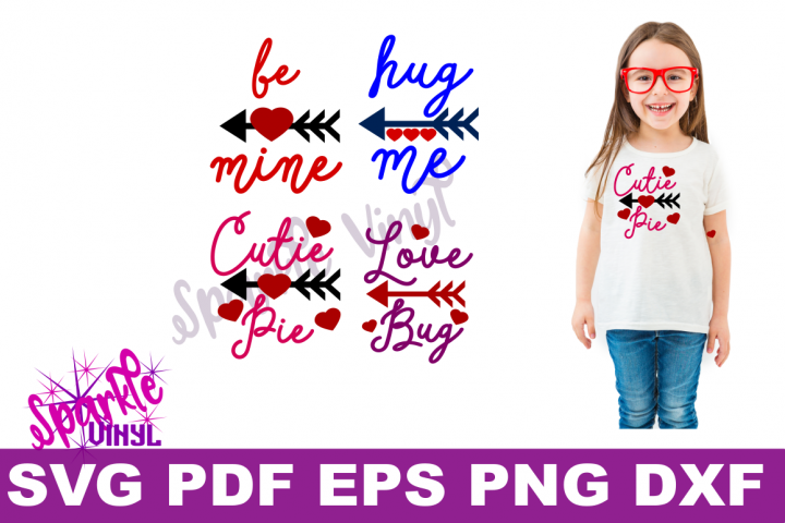 Valentine Shirt Toddler Infant Girl printable or svg bundle cut files for cricut or silhouette, Svg Valentines day svg cut file