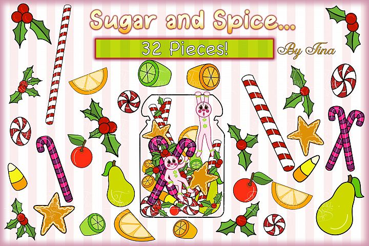 Christmas Sugar and Spice Pink Gingerbread Men 111218SSGB