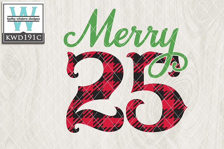 Christmas SVG - Merry 25