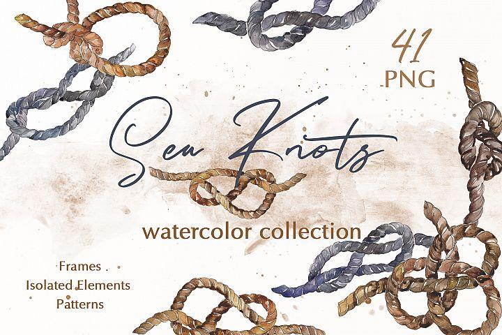 Sea Knots Watercolor png