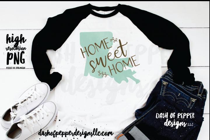 Louisiana - A Home Sweet Home PNG