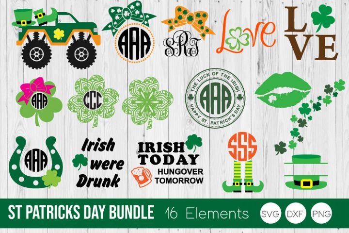 St Patricks Day Bundle SVG Cut Files