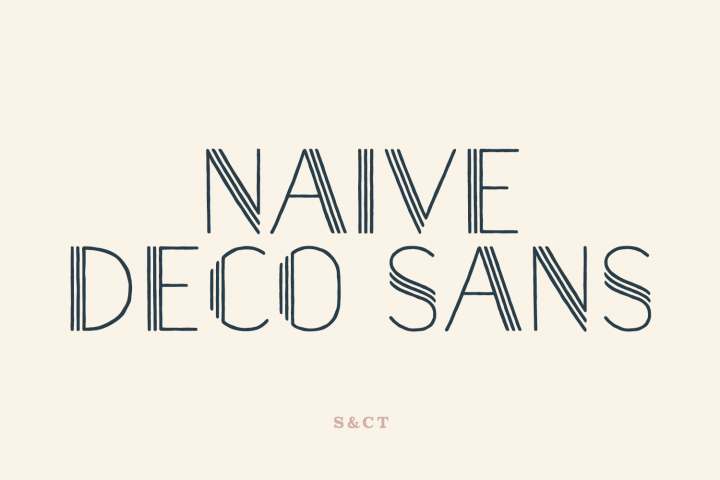 Naive Deco Sans Family