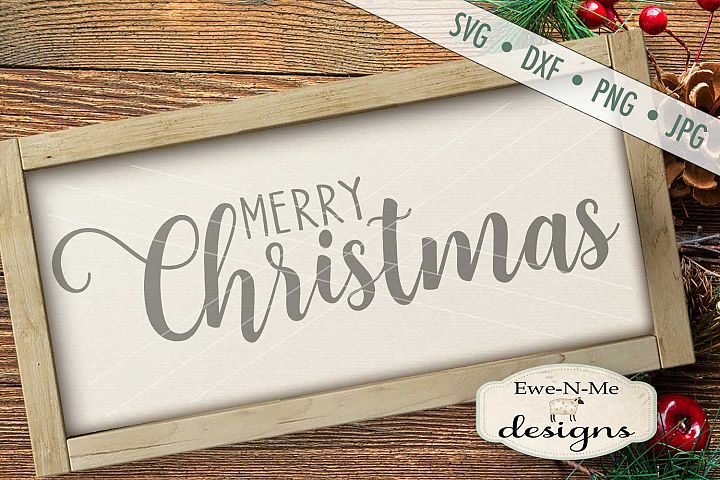 Merry Christmas SVG DXF Files