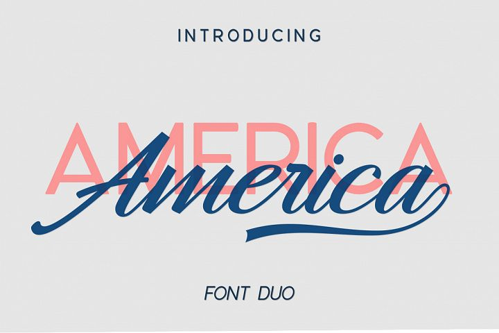America Font Duo