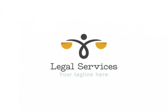 Legal Services - Law & Attorney Logo Template