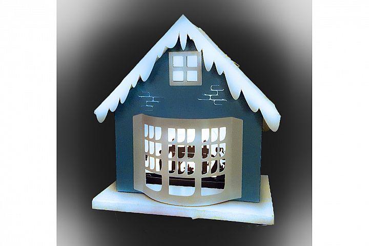 One more sleep Christmas house