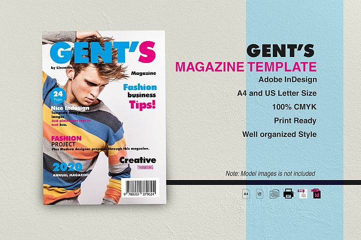 Gents Magazine Template