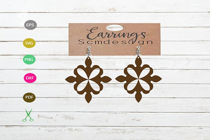 Earrings SVG,earrings template earrings cut file, earrings