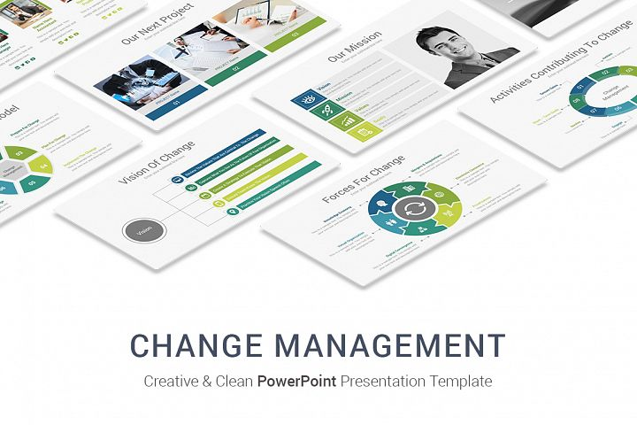Change Management In Business PowerPoint Presentation