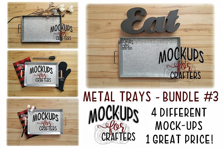 Metal trays bundle #3 - Cooking,Grilling, Bonfire - Walmart