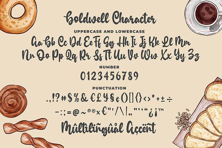 Boldwell - Bold Modern Script example image 6