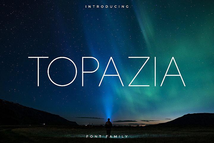 Topazia Font Family - Sans Serif