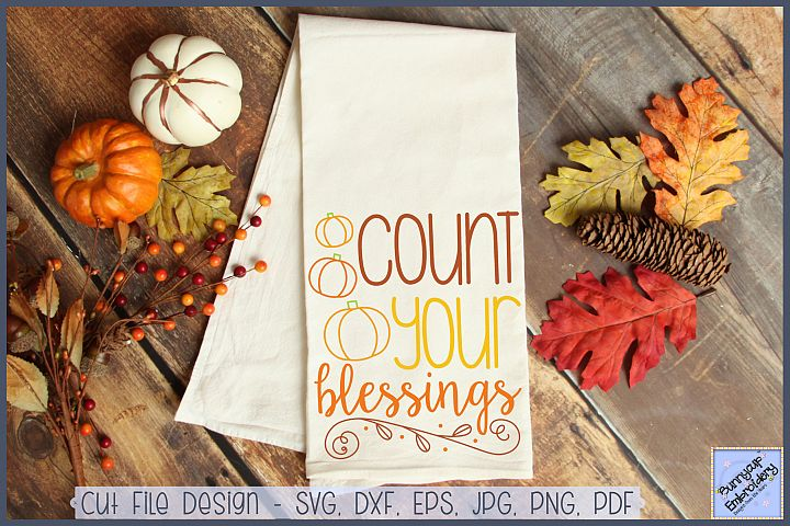Count Your Blessings - SVG, Clipart and Printable
