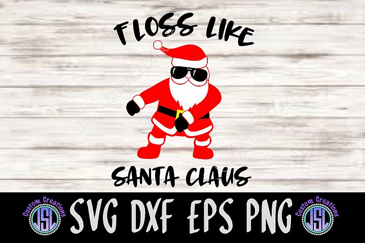 Floss like Santa Claus | Set of 2 Bundle | SVG DXF EPS PNG