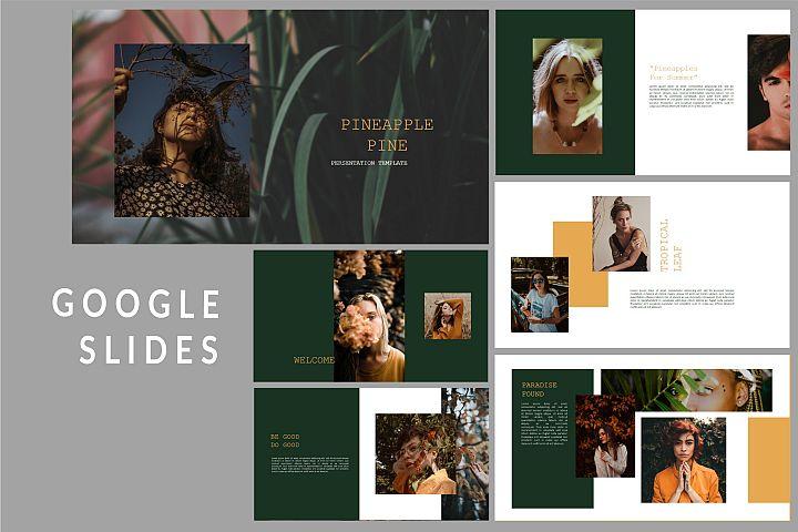 Pineapple Pine - Google Slides Presentation