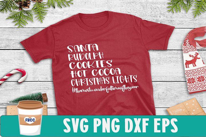 Christmas SVG, Santa svg, Rudolph svg, Christmas shirt svg