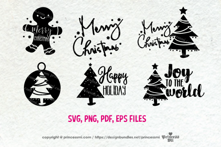 Christmas set / svg, eps, png file