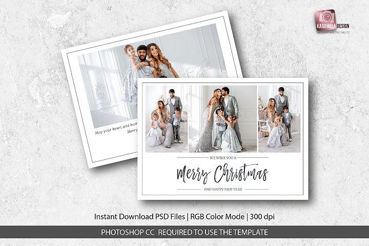 Mery Christmas Card Template