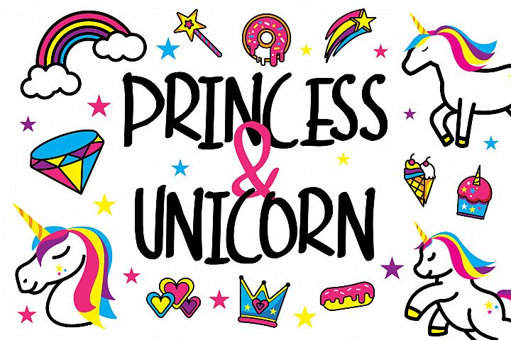 Princess Unicorn Pack