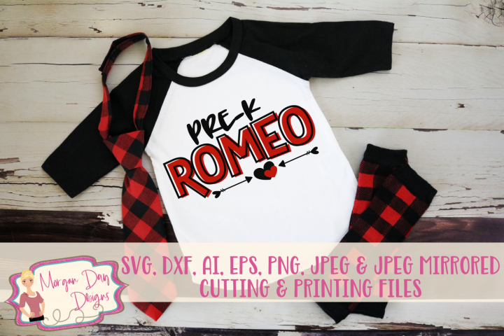 Romeo - Valentines Day SVG, DXF, AI, EPS, PNG, JPEG